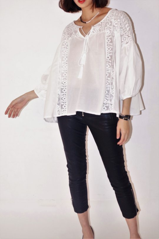 BOXY COTTON WHITE