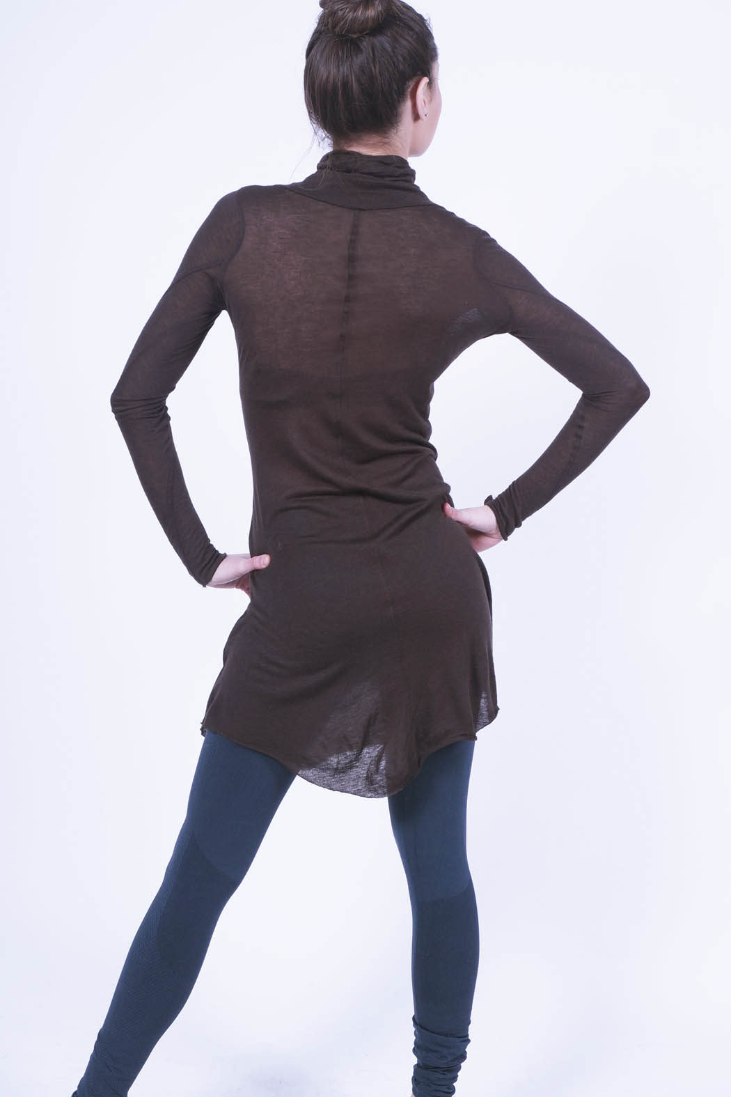 turtle brown back xs