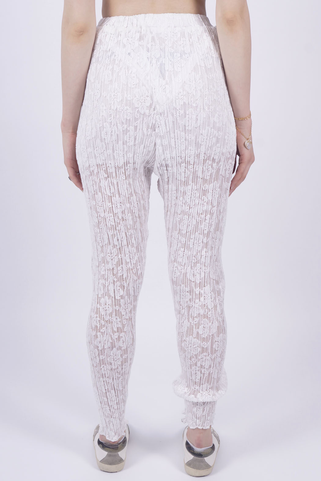 lace white back pantys