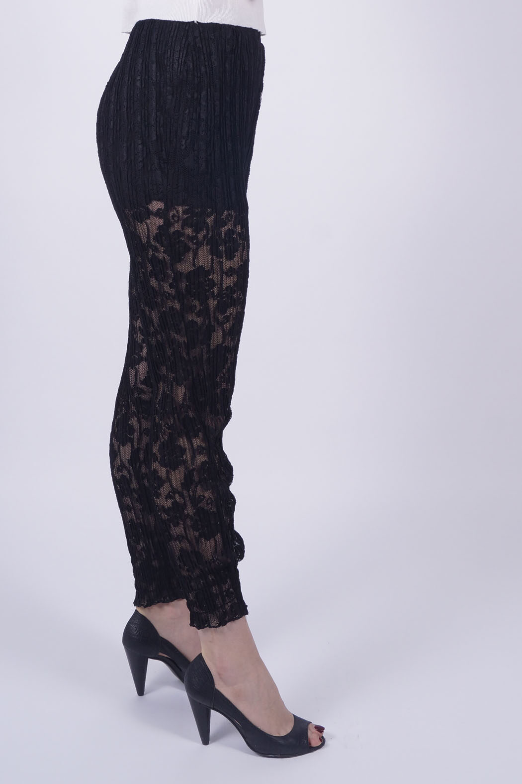 sally black lace